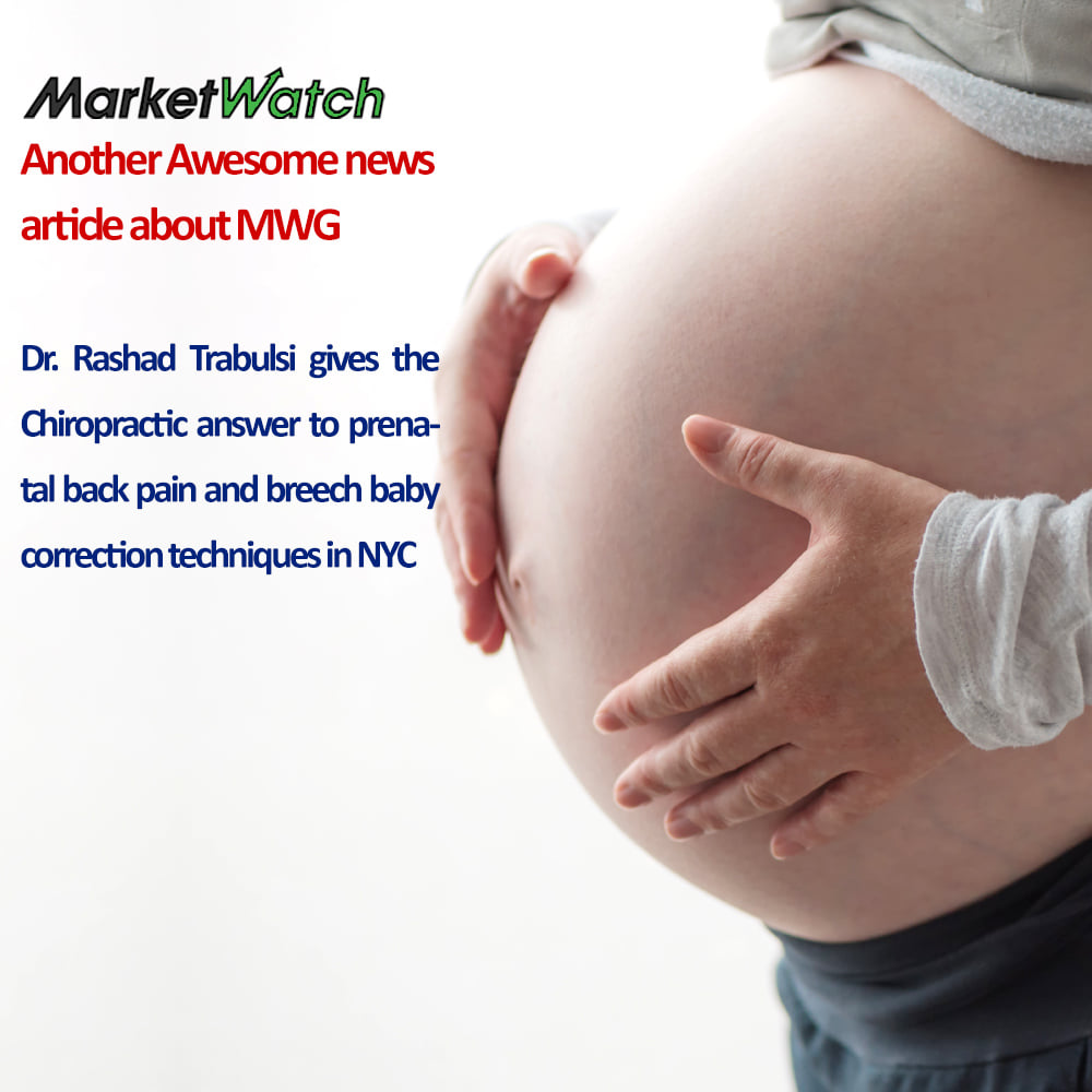 Dr. Rashad Trabulsi gives the Chiropractic answer to prenatal back pain and breech baby correction techniques in NYC